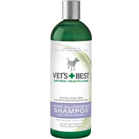 Vets Best Hypo-Allergenic Shampoo for Dogs - Healthcare &