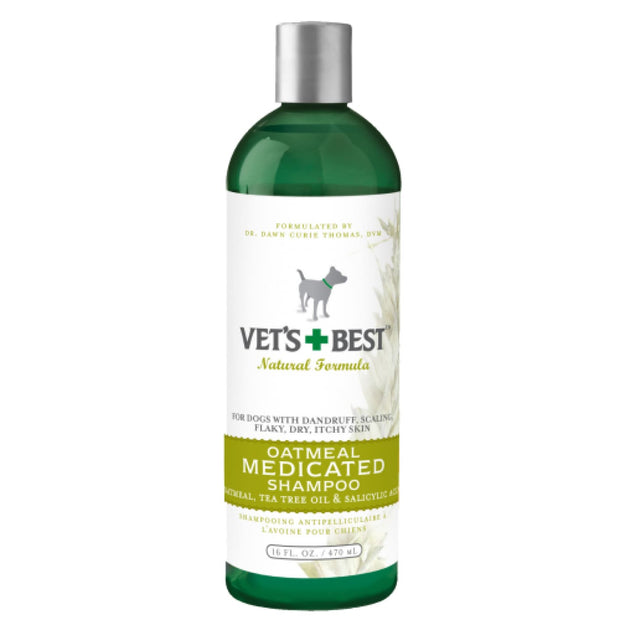 Vets Best Oatmeal Medicated Shampoo for Dogs - Healthcare &