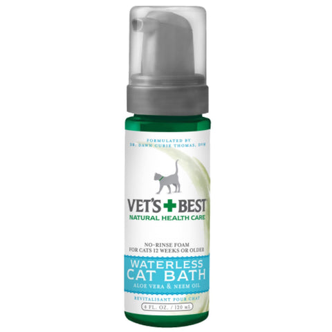 Vets Best Waterless Cat Bath - Cat Health & Grooming