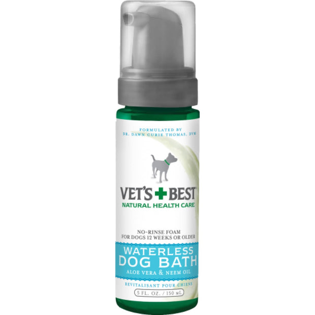 Vets Best Waterless Dog Bath - Healthcare & Grooming