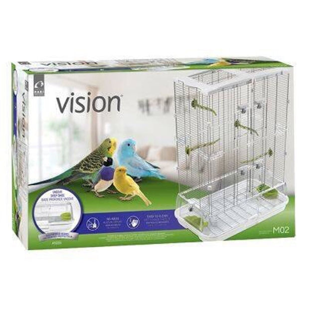 Vision Bird Cage (Medium/Double) - Bird Cages & Homes