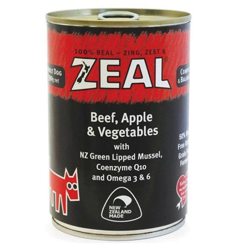 Zeal Beef Apple & Vegetables Dog Wet Food - Dog Food