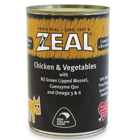 Zeal Chicken & Vegetables Dog Wet Food - Dog Food