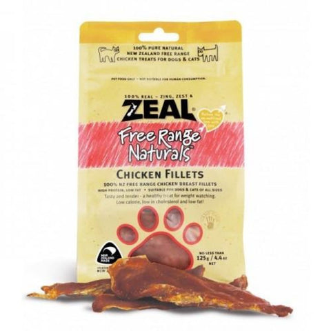 Zeal Free Range Chicken Fillets for Dogs and Cats - Cat