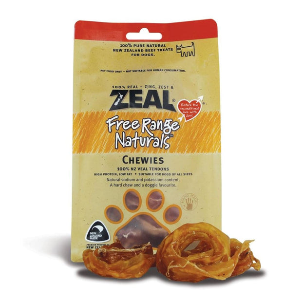Zeal Free Range Naturals Chewies - Dog Treats