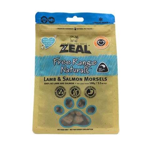 Zeal Lamb & Salmon Morsels for Cats - Cat Treats