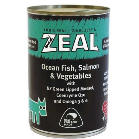 Zeal Ocean Fish Salmon & Vegetables Dog Wet Food - Dog Food