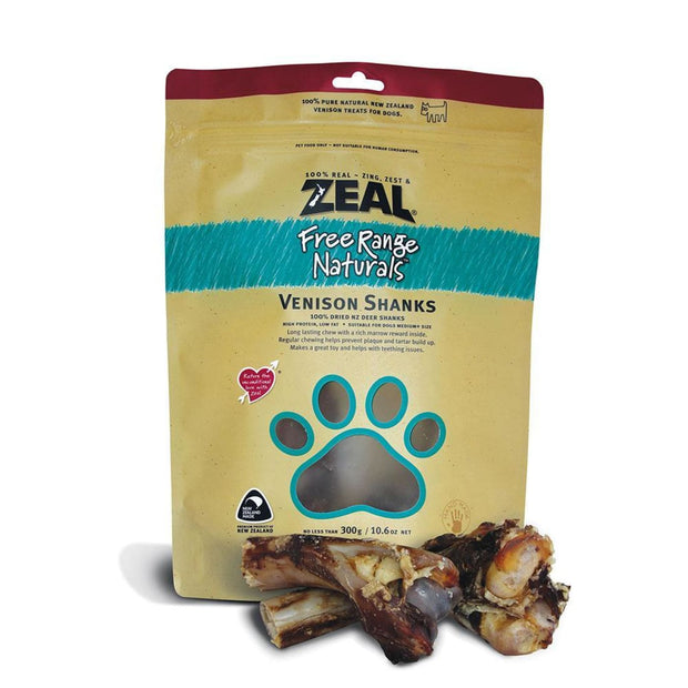 Zeal Venison Shanks - Dog Treats