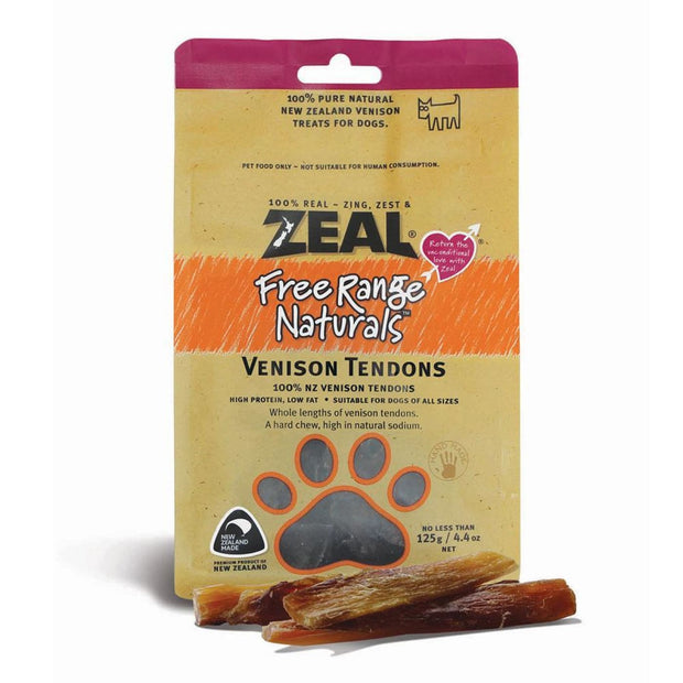 Zeal Venison Tendons - Dog Treats