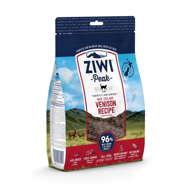 Ziwi Peak Air-Dried Venison for Cats (400g) - Cat Food