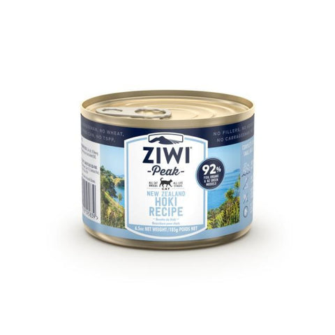 Ziwi Peak Cat Wet Recipe - Hoki (185g) - Cat Food