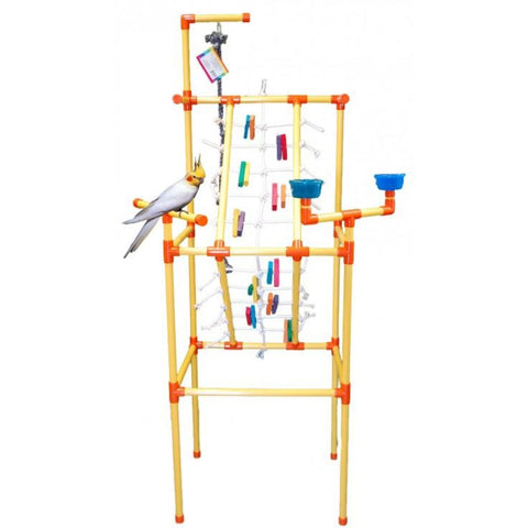 ZooMax PVC Play Gym - Bird Cages & Homes