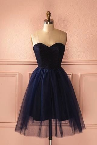 Charming  Tulle Homecoming Dress, Short  Homecoming Dress   S1125