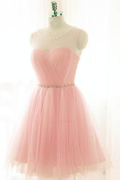 Popular Pink  Short Homecoming Dress  S1141