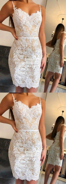 New Arrival Sweetheart Mermaid Lace Homecoming Dresses Short Party Dress  S180