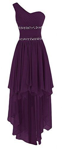 One Shoulder   High Low  Homecoming Dress   S1940