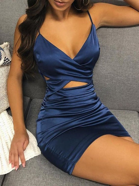 A-Line Short Homecoming Dresses , Sexy Homecoming Dress S2020