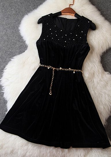 Retro Heavy Hand-Set Diamond Short Homecoming   Dress S27