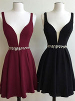 Beautiful Homecoming Dress Little Black Dresses Short Prom Dress Party Dress  S44