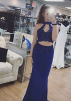 Two Piece Long Prom Dress, Charming Prom Dress S16874