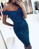 Navy Blue homecoming dresses sheath S13834