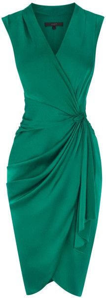 Green V Neck Sleeveless Short Homecoming Dress S13713