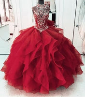 Modest Ball Gown Prom Dress Sweet 16 Girls S16758