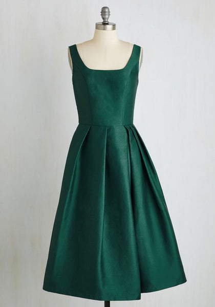 Green short homecoming dress for party S14665