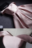 Off the Shoulder Pink A Line Short Prom Dress,Cute Homecoming Dress S529