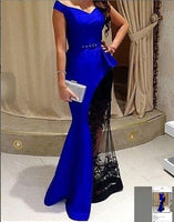 New Cap Sleeve Mermaid Prom Dresses,Formal Evening Party Gown S6601