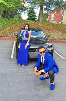 Mermaid Prom Gown,Prom Dresses,Royal Blue Evening Gowns S11112