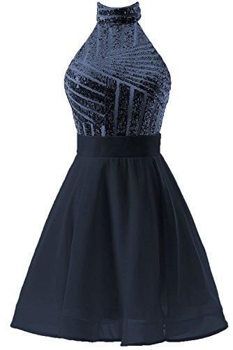 Halter Short Homecoming Dresses Sparkly  S11003