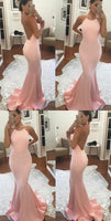 Pink Prom Dresses, Sleeveless Prom Dresses  S7002