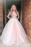 Puffy Pink Tulle Prom Dress S11690
