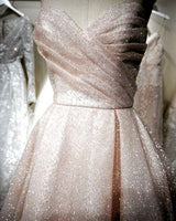 Sweetheart Long Prom Dress , Pink Prom Dress S11740