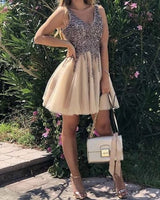 Cute Homecoming Dresses, Short Homecoming Dresses S11857
