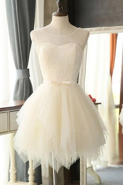 Prom Dresses Mini Charming Tulle Short Prom Dresses Homecoming Dresses  S794