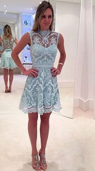 Sexy Homecoming Dress , Lace Homecoming Dresses,  Short Homecoming Dress  S819