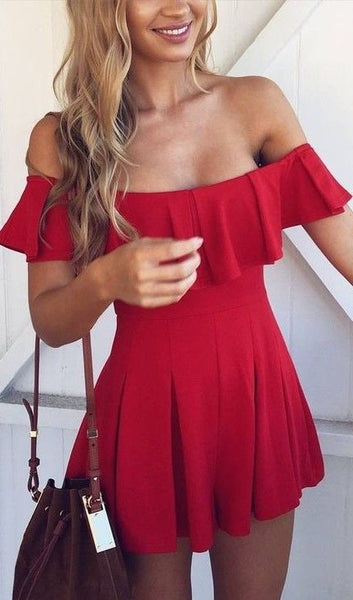 Excellent Off The Shoulder  Homecoming Dresses S836