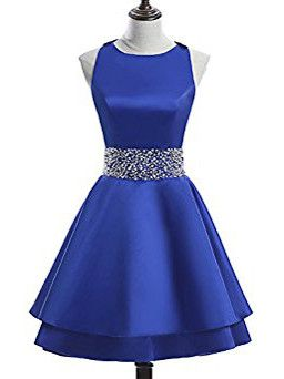Royal Blue Homecoming Dress Short Prom Dress Juniors Homecoming Dresses  S871