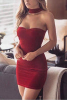 Sexy short homecoming dress , charming homecoming dress S897