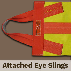 Specialty Web Slings - Attached Eye