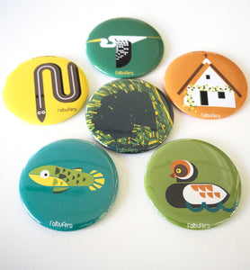 PACK 6 IMANES ALBUFERA / PACK 6 MAGNETS ALBUFERA