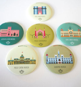 COLECCIÓN IMANES MONUMENTOS / MONUMENTS MAGNET COLLECTION