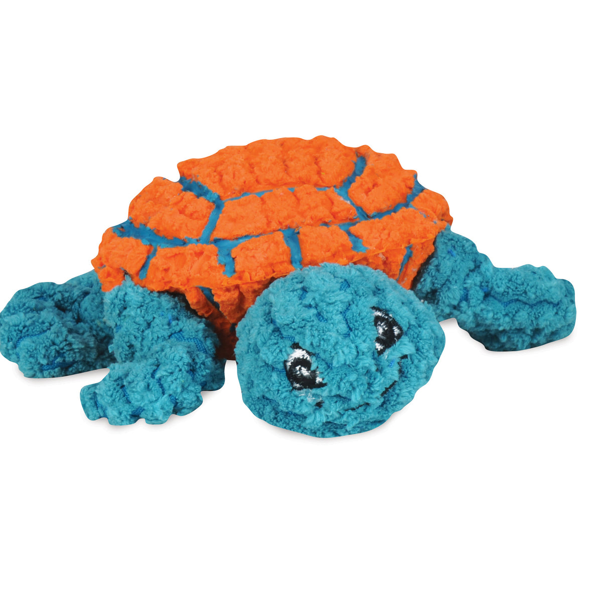 Ruff-Tex® & Plush Dude the Turtle (Orange/Teal)