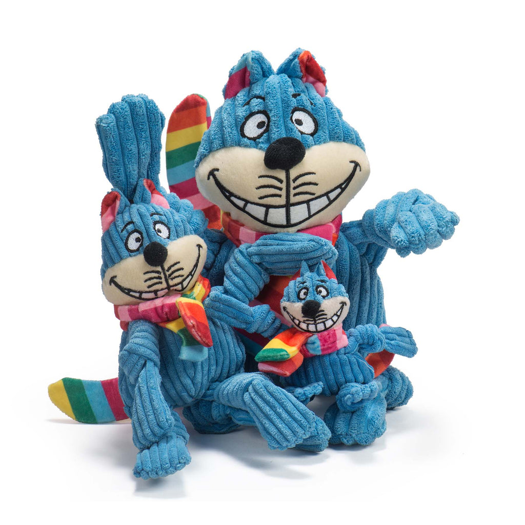 Rainbow Cheshire Cat Knottie™