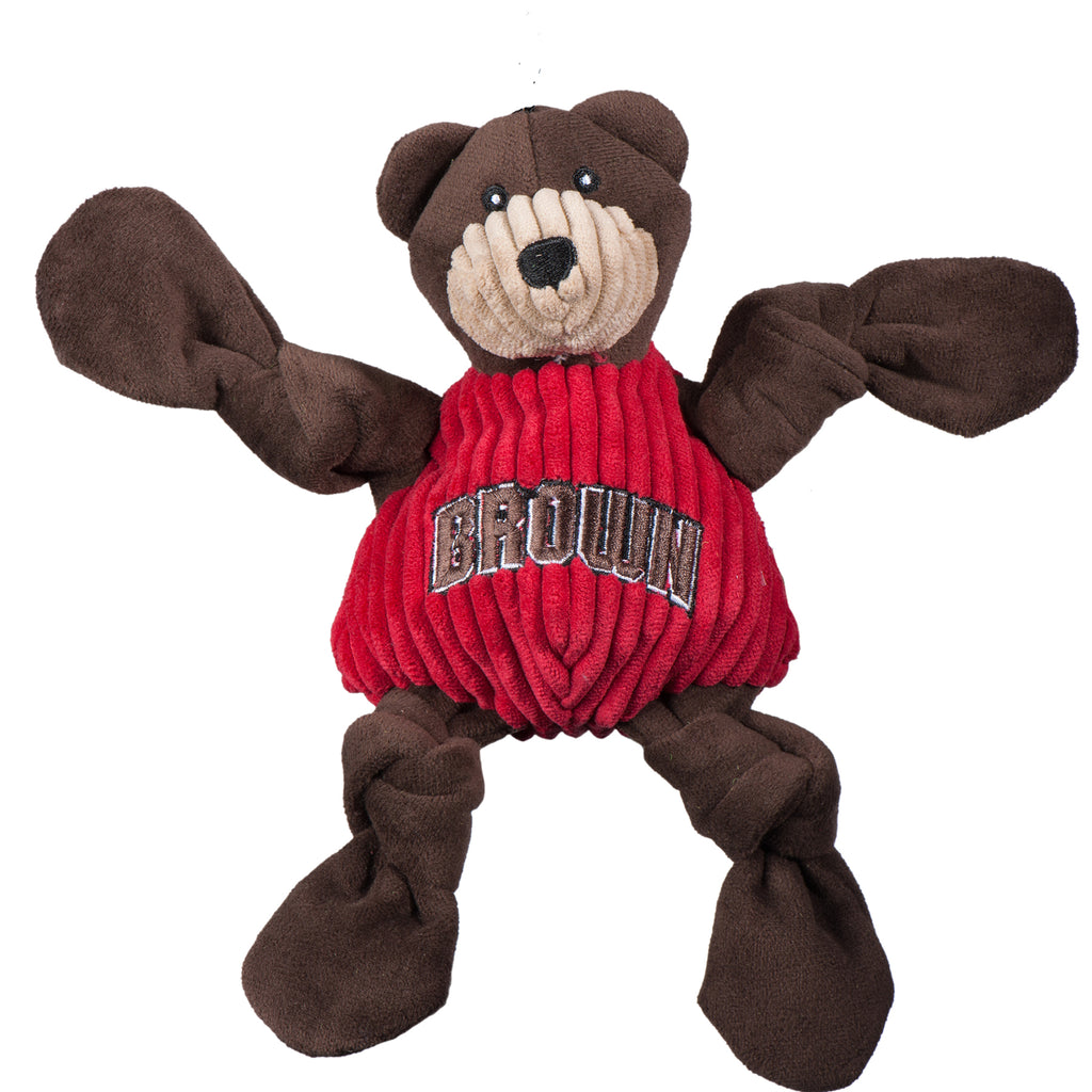 Brown University Bruno the Bear Mascot Knottie®