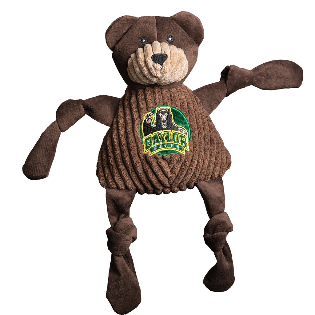 Baylor University Bruiser the Bear Mascot Knottie ®