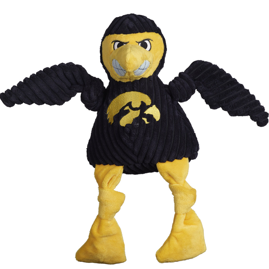 Iowa (U. of) Herky the Hawk Mascot Knottie®