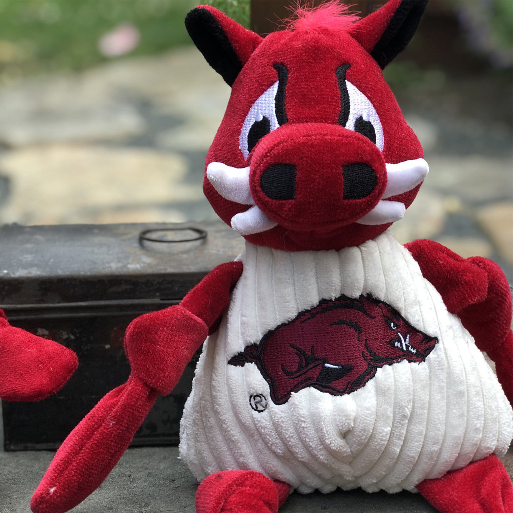 Arkansas (U. of) Tusk the Razorback Mascot Knottie®